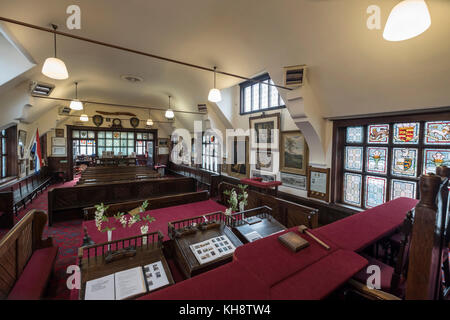 Bridgnorth Town hall interior - Stock Image