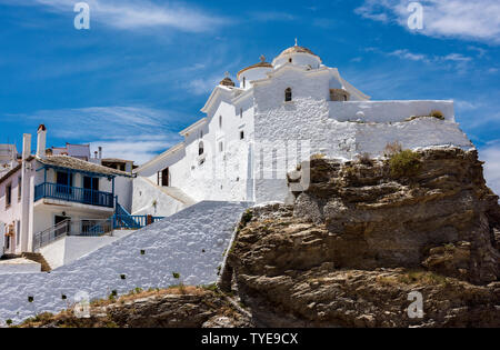 Panagia tou Pyrgos Church, Northern Sporades Greece. - Stock Image