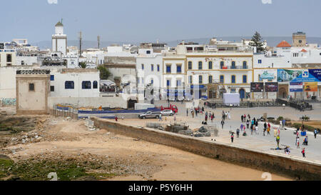 The town of Essaouira in Morocco - Stock Image
