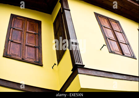 Part of a renovated traditional Ottoman style house in Turkey - Stock Image