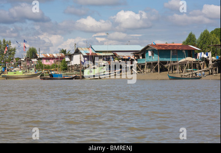 Bako village - Stock Image