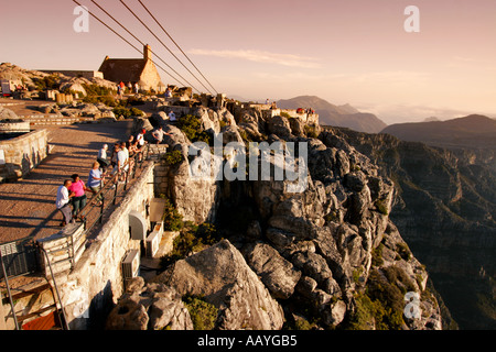 south africa cape town table mountain view point - Stock Image