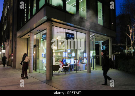 Circa London estate agency, Southwark, London, England, UK - Stock Image