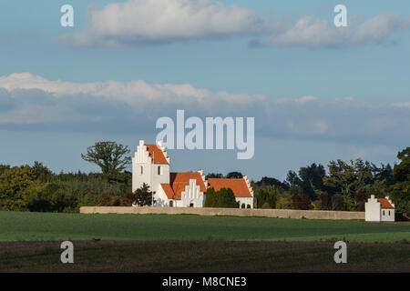 Kindertofte church - Stock Image