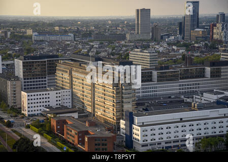 View from the observation tower Euromast in Rotterdam, Netherlands, May 7, 2019. (CTK Photo/Drahoslav Ramik) - Stock Image