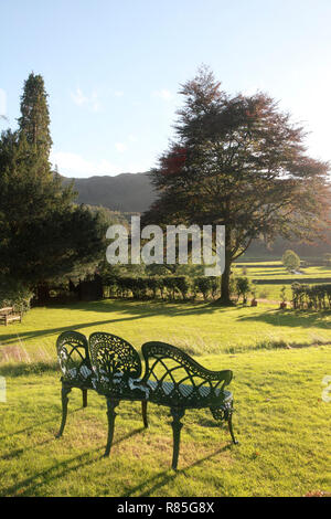 A view over Easedale, Grasmere in the Lake District - Stock Image