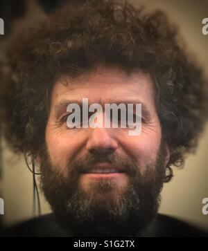 Bob ross - Stock Image