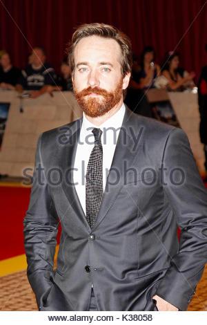 Matthew Macfadyen. Red carpet arrivals at 'The Three Musketeers' world premiere, London. - Stock Image