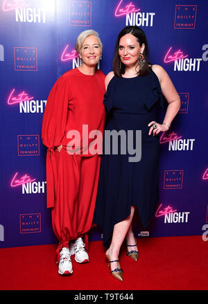 Emma Thompson and Deborah Frances-White attending the Late Night event in association with The Guilty Feminist at Picturehouse Central, London. - Stock Image