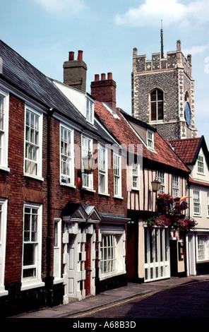 Princes Street Norwich England - Stock Image