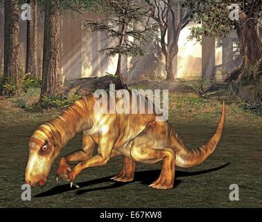Dinosaurier Iguanodon / dinosaur Iguanodon - Stock Image