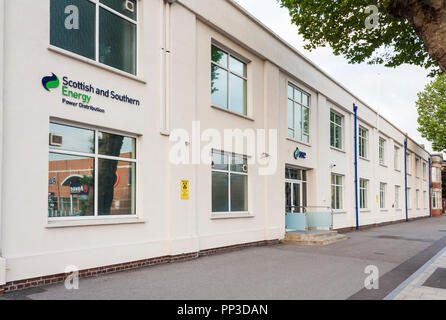 Scottish and Southern Energy plc building in Reading, Berkshire, England, GB, UK - Stock Image