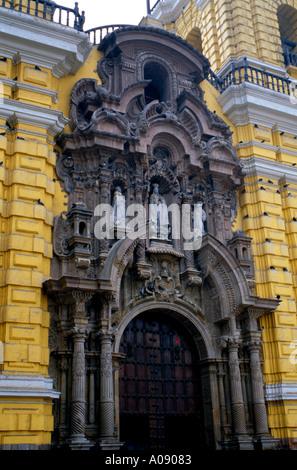 San Francisco Monastery, Lima, Peru South America - Stock Image