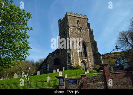 Parish Church, Hastings, East Sussex, UK - Stock Image