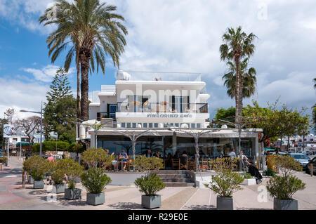 Pingouino Cafe, Poseidonos Avenue, Paphos (Pafos), Pafos District, Republic of Cyprus - Stock Image