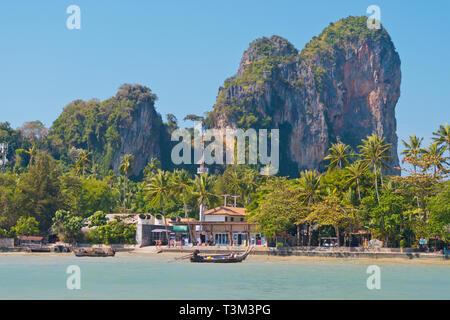 East Railay, Railay, Krabi providence, Thailand - Stock Image