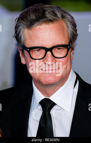 London, UK. 12th December, 2018. Colin Firth at the European Premier of Mary Poppins Returns on Wednesday 12 December 2018 held at The Royal Albert Hall, London. Pictured: Colin Firth. Credit: Julie Edwards/Alamy Live News - Stock Image