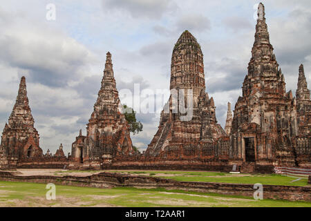 Wat Chaiwatthanaram in Ayutthaya, Thailand. - Stock Image