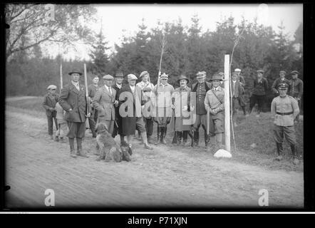 65 Narcyz Witczak-Witaczyński - Polowanie (107-751-1) - Stock Image