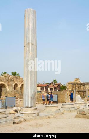 Athena area, Side, Turkey, Eurasia - Stock Image
