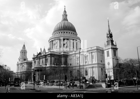 St Paul's Cathedral London - Stock Image