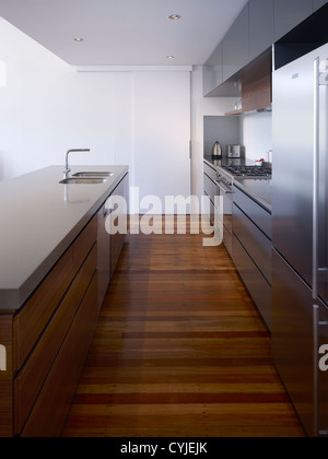 Modern kitchen interior - Stock Image