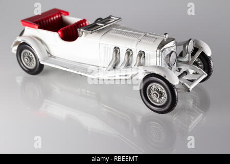 Matchbox Models of Yesteryear Y-10 Mercedes-Benz 36-220 1928 - Stock Image