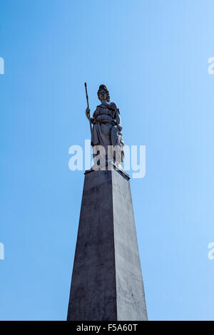 Monument at May Square in Buenos Aires, Argentina - Stock Image