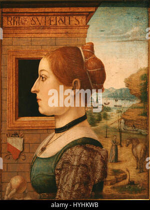 Ginevra d'Antoino Lupari - Stock Image