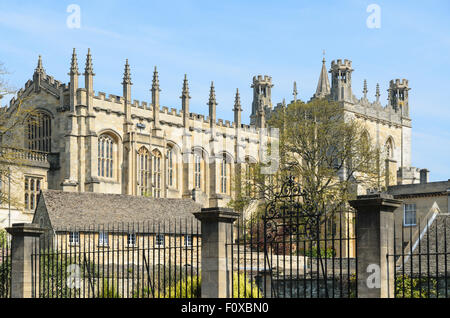 Christ Church College, University of Oxford, Oxford, England, UK. - Stock Image