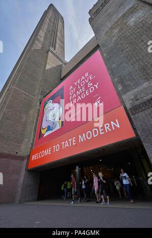 Tate Modern Museum London - Stock Image