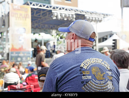 Wide open Bluegrass festival in Raleigh, North Carolina, October 1st, 2018 - Stock Image