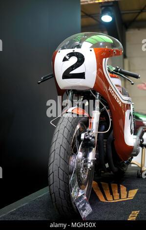 Legends motorbikes course - Stock Image