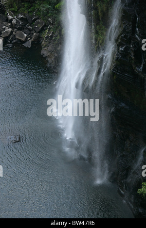 Lisbon Falls in the Ukhahlamba Drakensberg National Park, Blyde River Canyon, Mpumalanga, South Africa - Stock Image