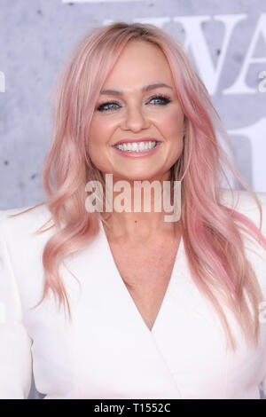 The Brit Awards 2019 held at the O2 - Arrivals  Featuring: Emma Bunton Where: London, United Kingdom When: 20 Feb 2019 Credit: Lia Toby/WENN.com - Stock Image