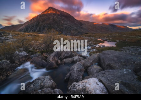 Snowdonia National Park in Wales - UK - Stock Image