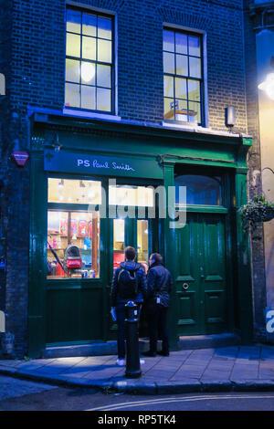 Paul Smith shop in Southwark, London, England, UK - Stock Image