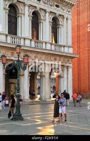 Piazza San Marco square, Venice, Italy - Stock Image