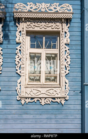 House of artist Pavel Korin, Palekh, Ivanovo region, Russia - Stock Image