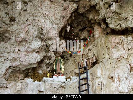 Commemorative Shrine Dedicated to Miguel Alvarez Toro, Creator of the Sumidero Canyon National Park, Chiapas State, - Stock Image