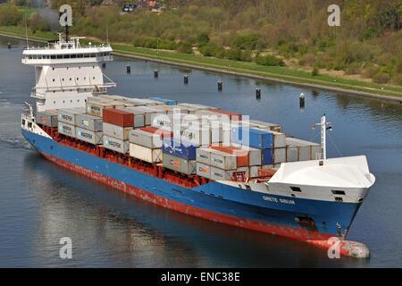 Containerfeeder Grete Sibum - Stock Image