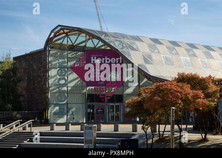 The Herbert Art Gallery and Museum in Coventry city centre UK - Stock Image