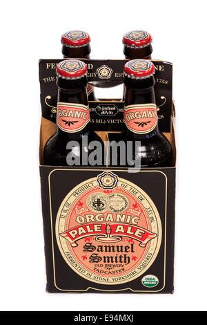 Samuel Smith Organic Pale Ale - Stock Image
