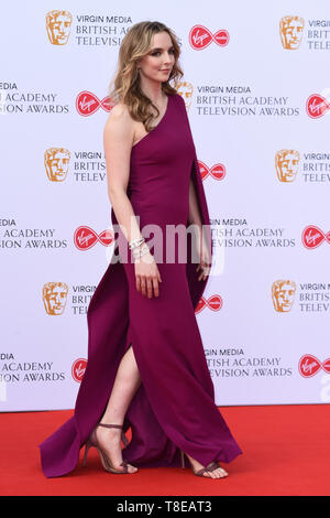LONDON, UK. May 12, 2019: Jodie Comer arriving for the BAFTA TV Awards 2019 at the Royal Festival Hall, London. Picture: Steve Vas/Featureflash - Stock Image