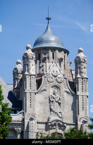 Graham Palace Budapest Hungary - Stock Image