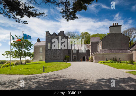 Ireland, County Kerry, Ring of Kerry, Catherdaniel, Derrynane National Historic Park, Derrynane House, former home of Maurice O'Connel, smuggler - Stock Image