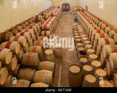 Asara Winery Cave Stellenbosch South Africa - Stock Image