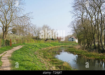 Pocklington Canal, East Yorkshire, England UK - Stock Image