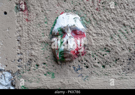 Parisian mask - Stock Image