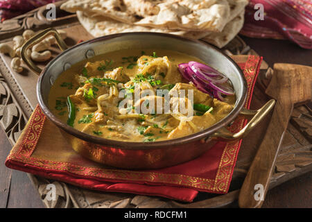 Chicken Changezi. North India Food - Stock Image